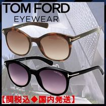 TOM FORD Unisex Street Style Oval Sunglasses