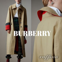 Burberry Casual Style Long Trench Coats