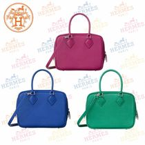 HERMES Plain Handbags
