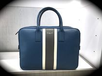 Michael Kors Stripes Leather Business & Briefcases