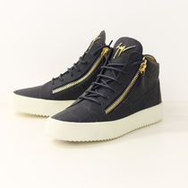 GIUSEPPE ZANOTTI Other Animal Patterns Leather Sneakers