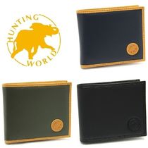 HUNTING WORLD Nylon Plain Folding Wallets