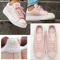 adidas STAN SMITH Platform Leather Platform & Wedge Sneakers