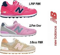 New Balance Casual Style Suede Low-Top Sneakers