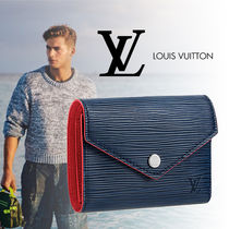 Louis Vuitton Leather Folding Wallets