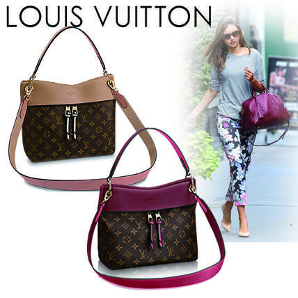 Louis Vuitton Shoulder Bags Monogram Casual Style Canvas Blended Fabrics 2WAY