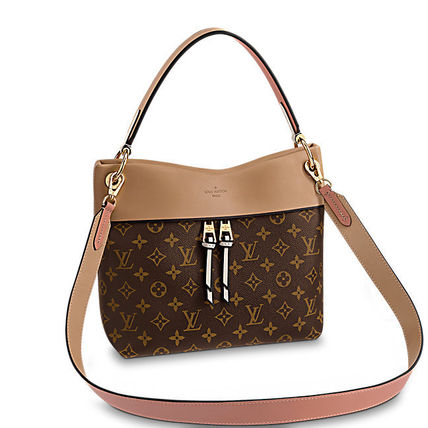 Louis Vuitton Shoulder Bags Monogram Casual Style Canvas Blended Fabrics 2WAY 2