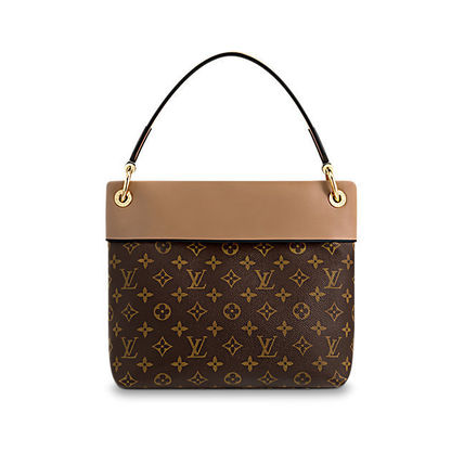 Louis Vuitton Shoulder Bags Monogram Casual Style Canvas Blended Fabrics 2WAY 5