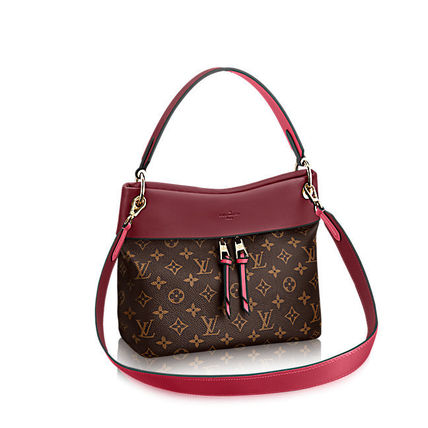 Louis Vuitton Shoulder Bags Monogram Casual Style Canvas Blended Fabrics 2WAY 7