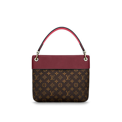 Louis Vuitton Shoulder Bags Monogram Casual Style Canvas Blended Fabrics 2WAY 10