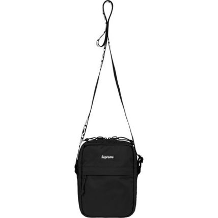 Supreme Small Shoulder Bag Logo Unisex Street Style