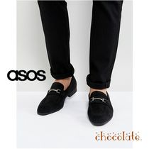 ASOS Plain Toe Loafers Street Style Plain Loafers & Slip-ons