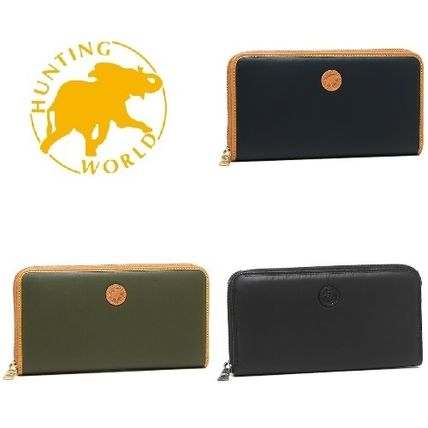 Nylon Plain Long Wallets