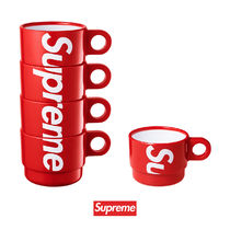 Supreme Unisex Street Style Collaboration Travel