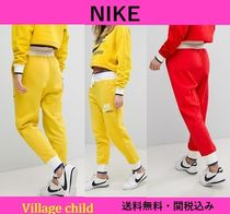 Nike Casual Style Sweat Street Style Bi-color Plain Bottoms