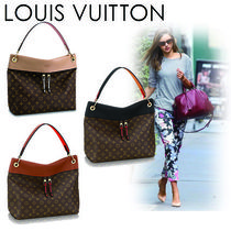 Louis Vuitton Monogram Casual Style Canvas Blended Fabrics A4