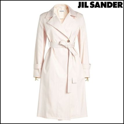 Casual Style Plain Trench Coats