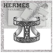 HERMES Bangles Casual Style Silver Bracelets