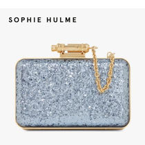SOPHIE HULME 2WAY Plain Party Style Clutches