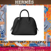 HERMES Bolide 2WAY Leather Elegant Style Handbags