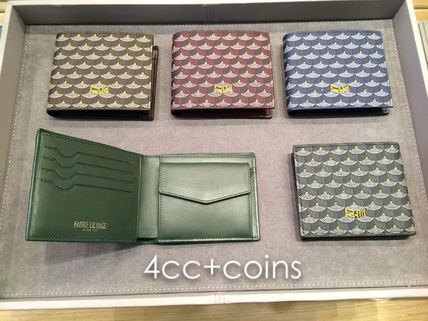 Faure Le Page Men's Wallet with coin pocket 4cc+Monnaie