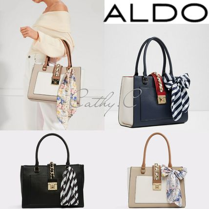 a6961bc7b9e Aldo 2018 Ss Blended Fabrics 2way Bi Color Plain Elegant Style. Aldo  Handbags 2018 For Women 5