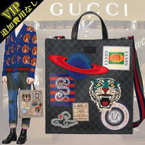 GUCCI Casual Style Unisex Cambus A4 2WAY Other Animal Patterns