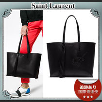 Saint Laurent Leather Totes