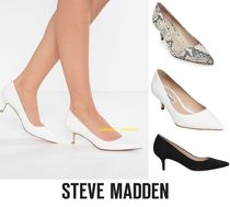 Steve Madden Street Style Plain Leather Office Style