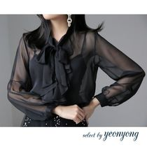 Long Sleeves Plain Medium Elegant Style Shawls