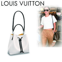 Louis Vuitton EPI Casual Style Blended Fabrics 2WAY Plain Leather
