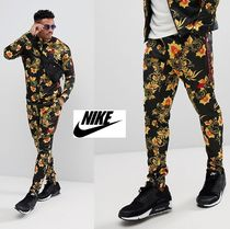 Nike Flower Patterns Street Style Joggers & Sweatpants