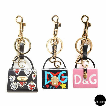 Heart Star Unisex PVC Clothing Keychains & Bag Charms