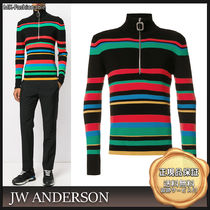 J W ANDERSON Stripes Long Sleeves Knits & Sweaters