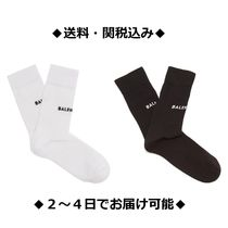 BALENCIAGA Plain Cotton Socks & Tights