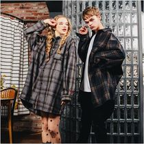 WV PROJECT Long Sleeves Oversized Shirts