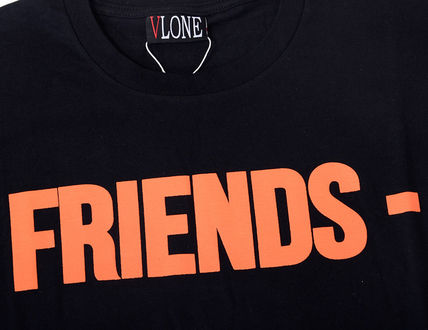 VLONE Crew Neck Crew Neck Unisex Street Style Cotton Short Sleeves 13