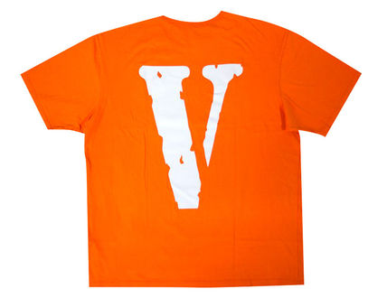 VLONE Crew Neck Crew Neck Unisex Street Style Cotton Short Sleeves 2