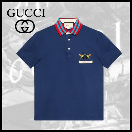 6e9a25cc4e8458 GUCCI Other Animal Patterns Short Sleeves Polos by Celebrity&Co - BUYMA