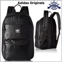 adidas Unisex Faux Fur A4 2WAY Plain Backpacks