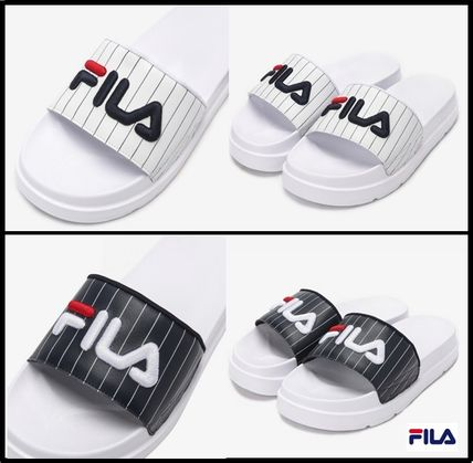 54cb7a31332d0a FILA Casual Style Shower Shoes Flat Sandals by Seoul Channel - BUYMA