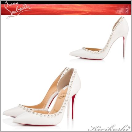 944cb5514885 ... Christian Louboutin Stiletto Casual Style Leather Pin Heels Stiletto  Pumps   Mules ...