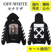 Off-White Pullovers Long Sleeves Cotton Hoodies
