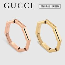 GUCCI 18K Gold Elegant Style Rings