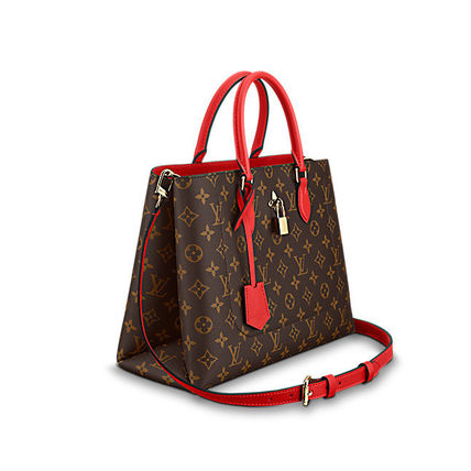 Louis Vuitton Totes Monogram Canvas Blended Fabrics A4 2WAY Office Style Totes 3