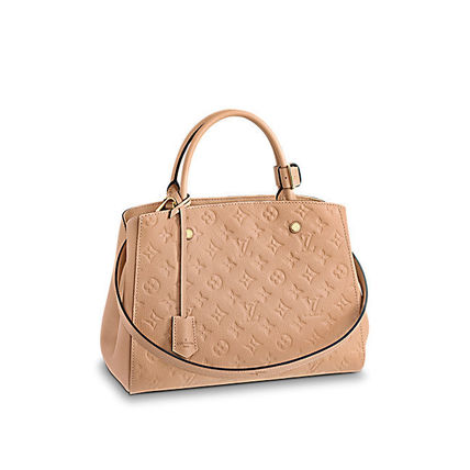 Louis Vuitton Totes Monogram A4 2WAY Plain Leather Office Style Totes 7