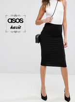 ASOS Pencil Skirts Casual Style Plain Skirts
