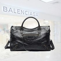 BALENCIAGA CITY 2WAY Leather Handbags
