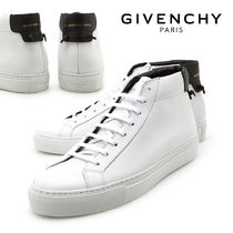 GIVENCHY Plain Leather Sneakers