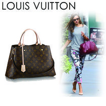 Louis Vuitton MONOGRAM Monogram Canvas A4 2WAY Office Style Totes